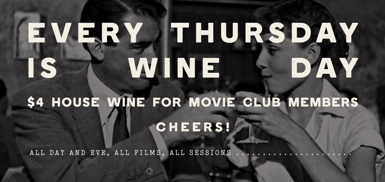 $4 Wine Thursdays for Lido Members