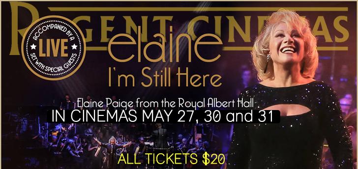 Elaine Paige: I