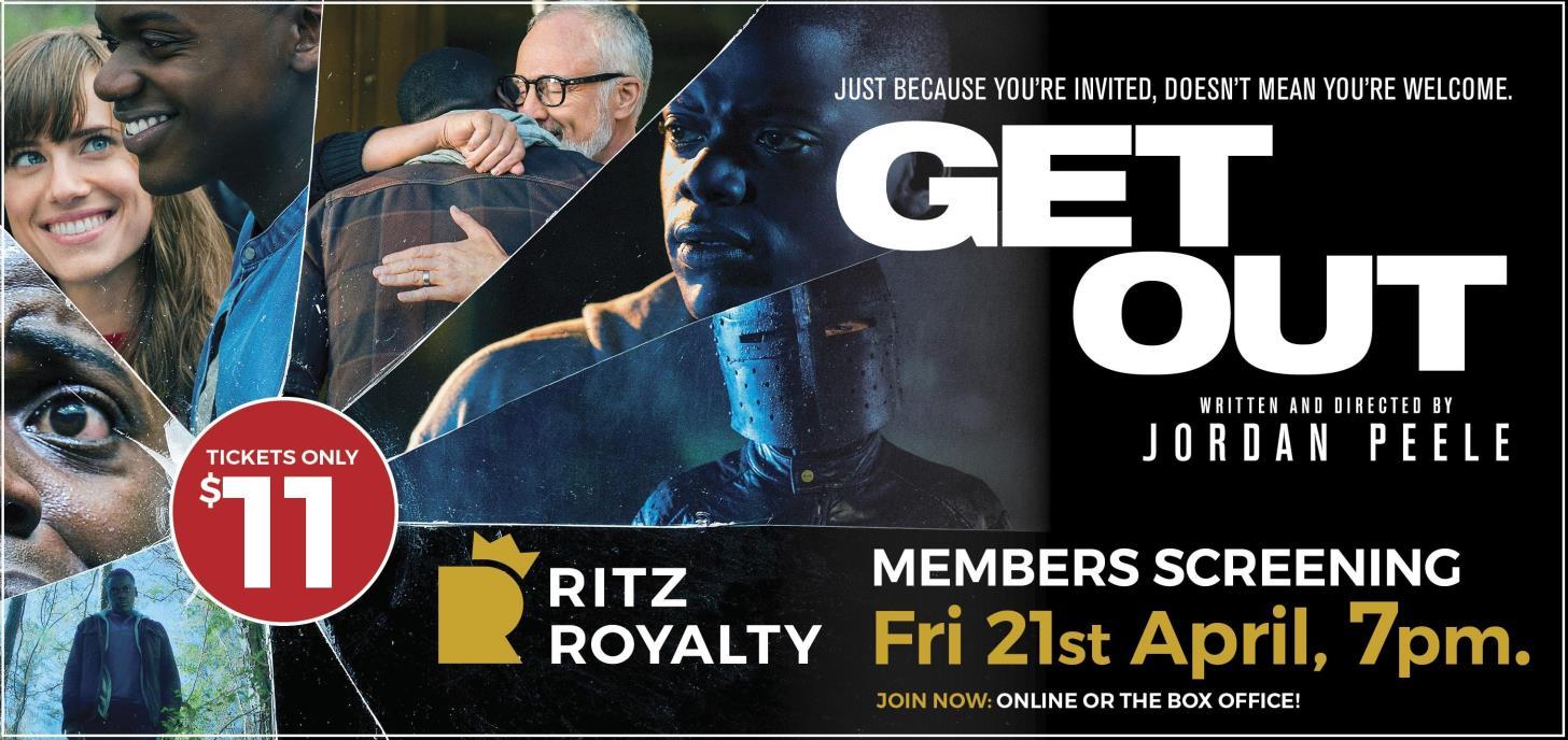 Get Out Members Screening