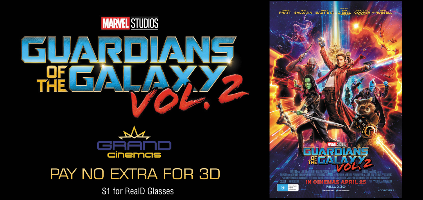 No 3D Surcharge for Guardians of the Galaxy Vol. 2