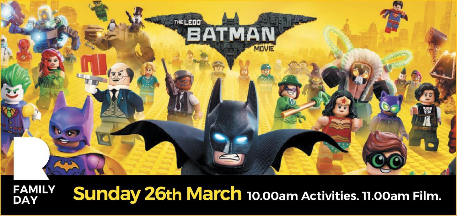 The Lego Batman Movie Family Day