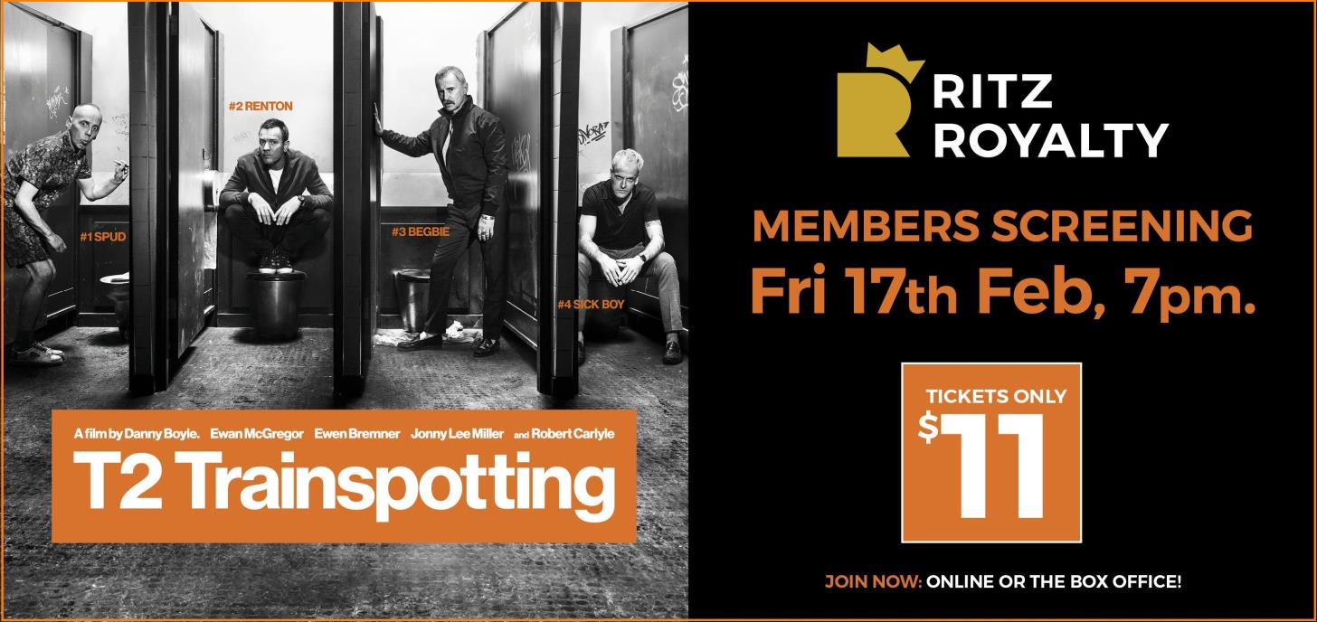 T2: Trainspotting Members Screening