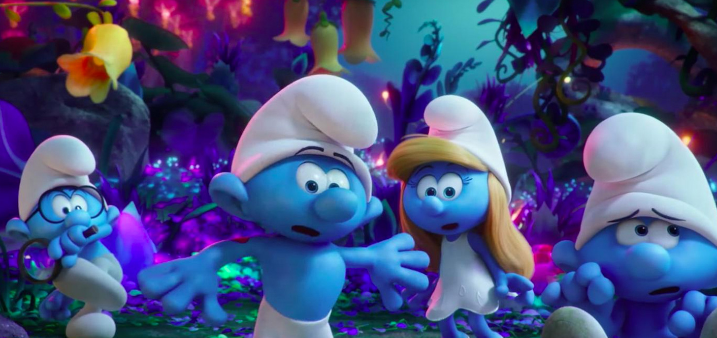 Now Showing: Smurfs: The Lost Village