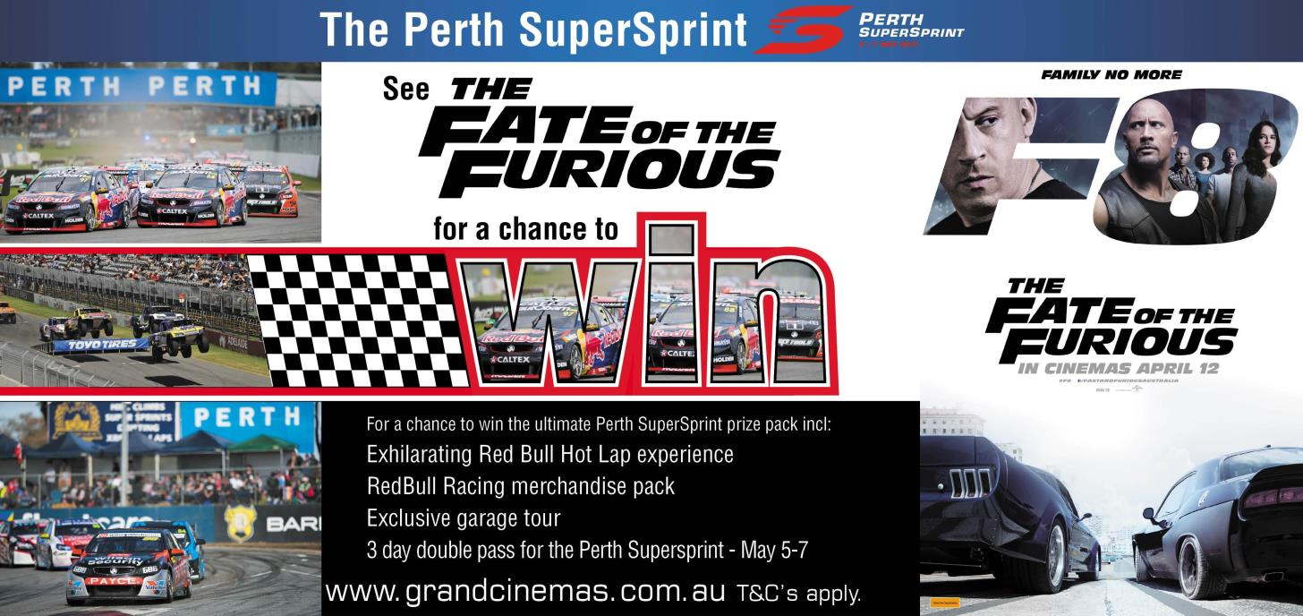 Win the Ultimate Perth SuperSprint Prize Pack!