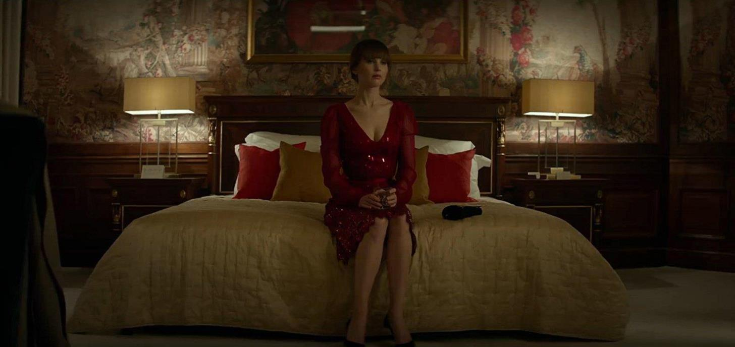 Now Showing: Red Sparrow