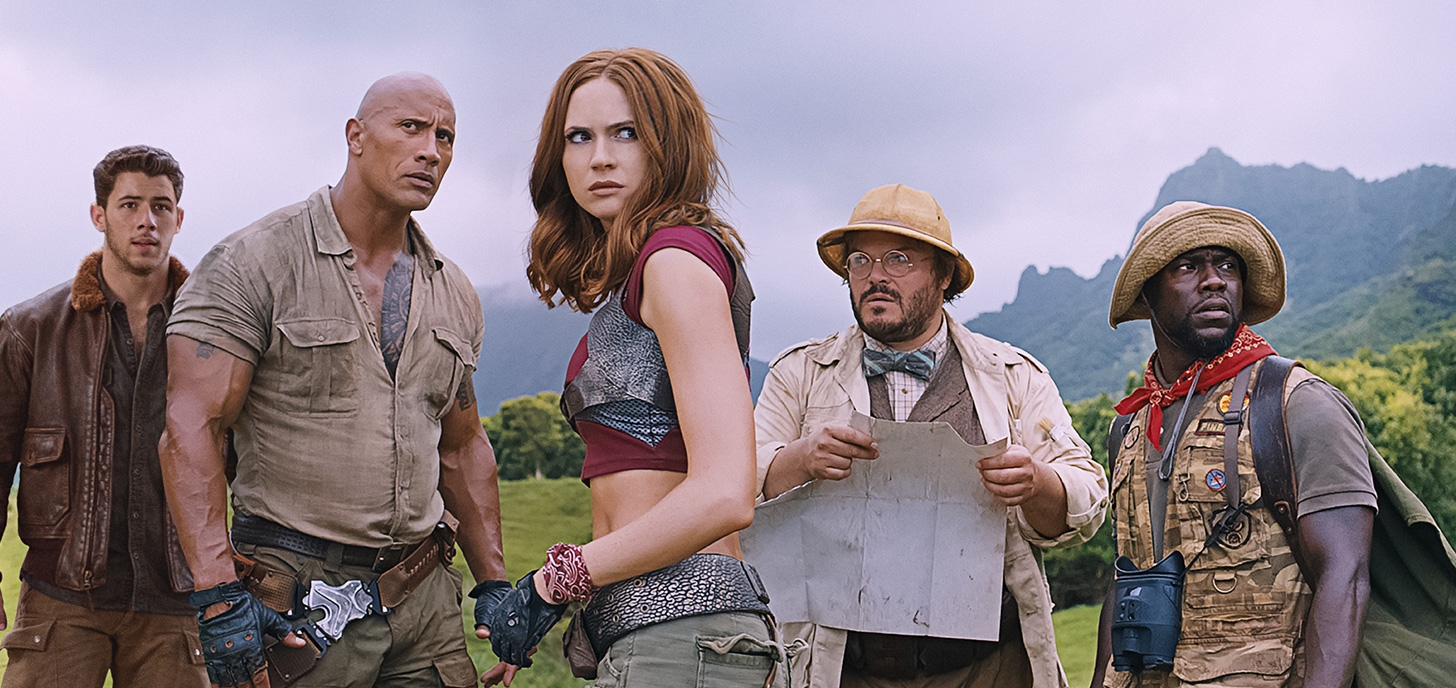 Now Showing: Jumanji: Welcome to the Jungle