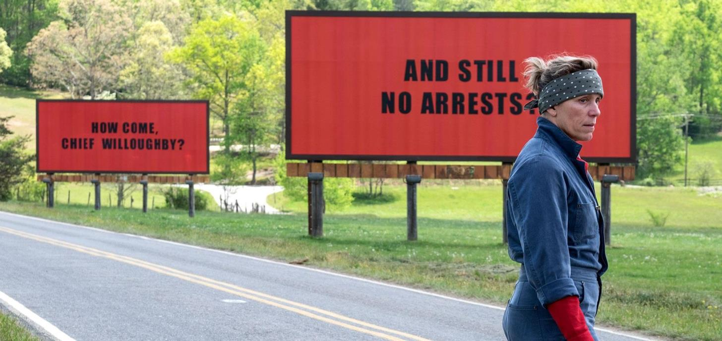 Now Showing: Three Billboards Outside Ebbing,