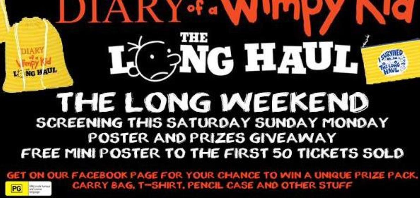 Coming Soon: Diary of A Wimpy Kid: The Long Haul