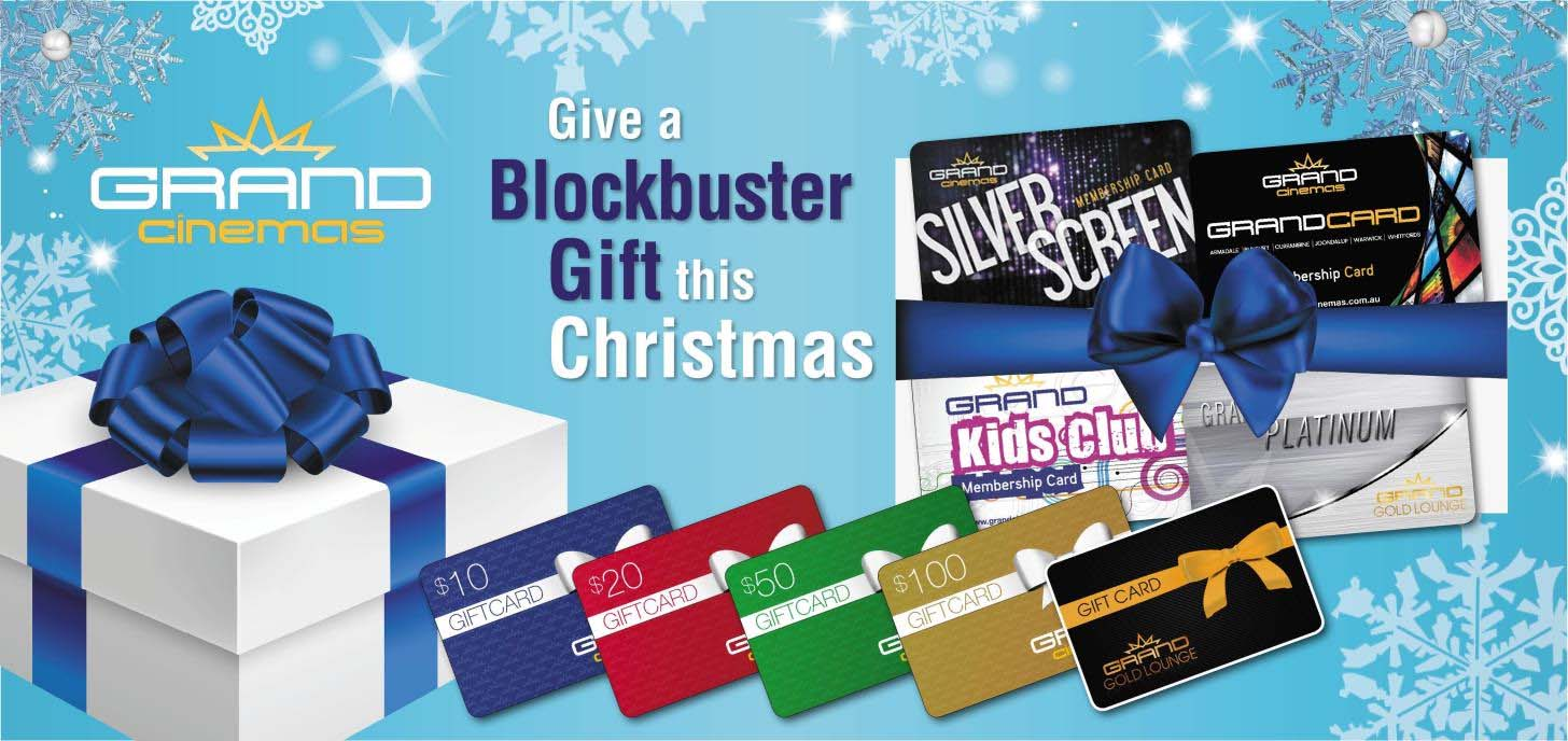 Purchase gifts online or at the Box Office