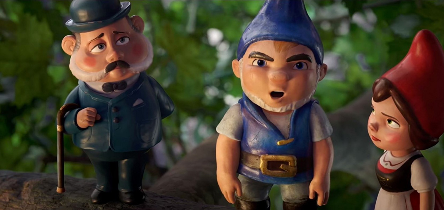 Now Showing: Sherlock Gnomes
