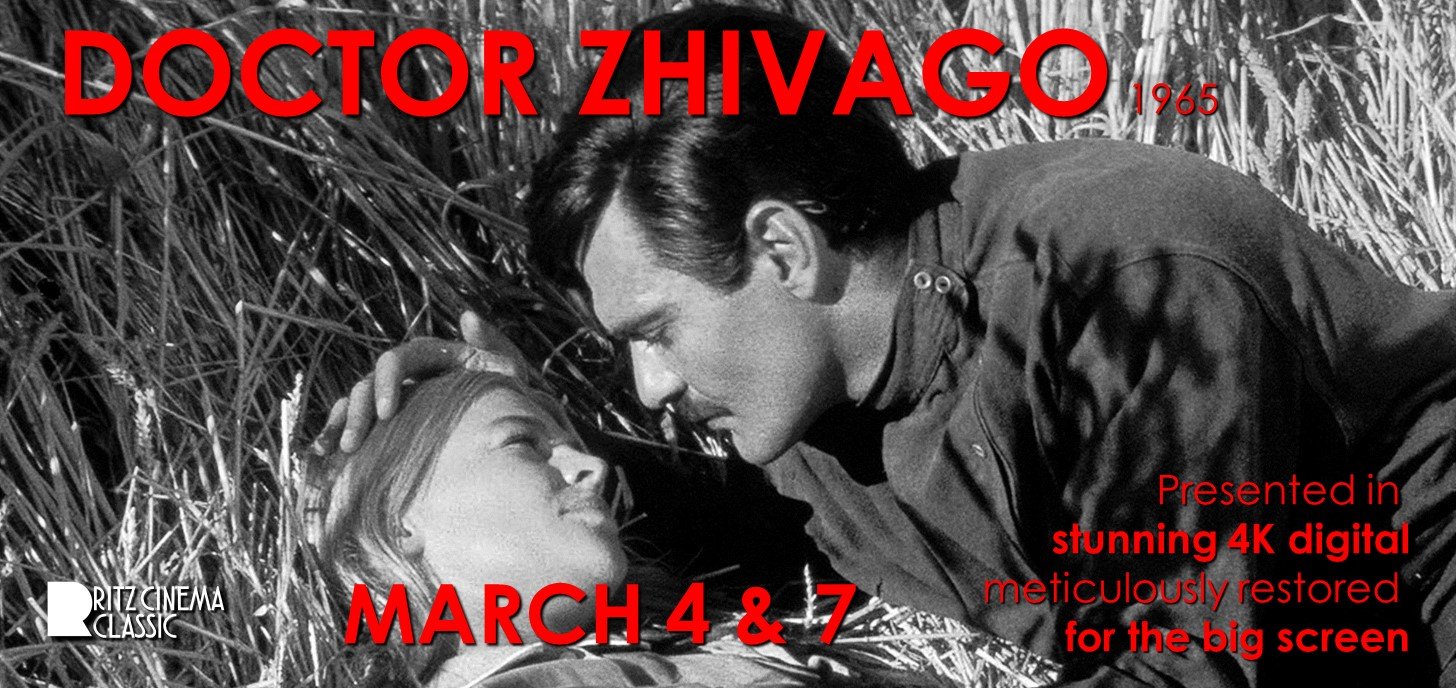 DOCTOR ZHIVAGO 4k digital restoration