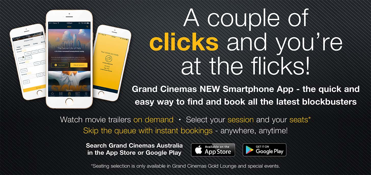 Search Grand Cinemas Australia in the app store