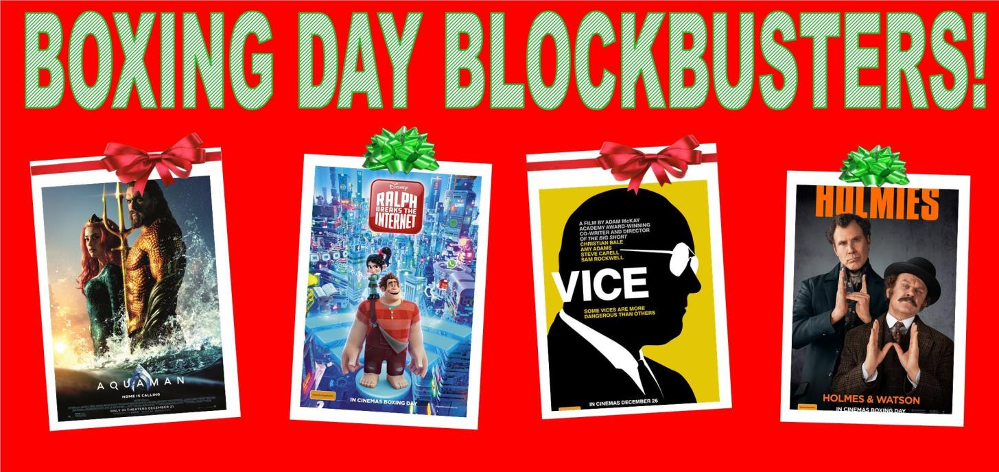 Boxing Day Blockbusters!