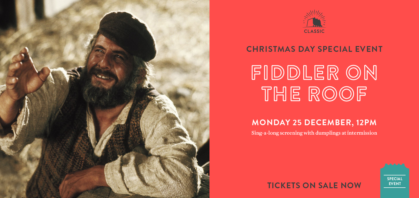 Fiddler on the Roof + Dumplings on Christmas