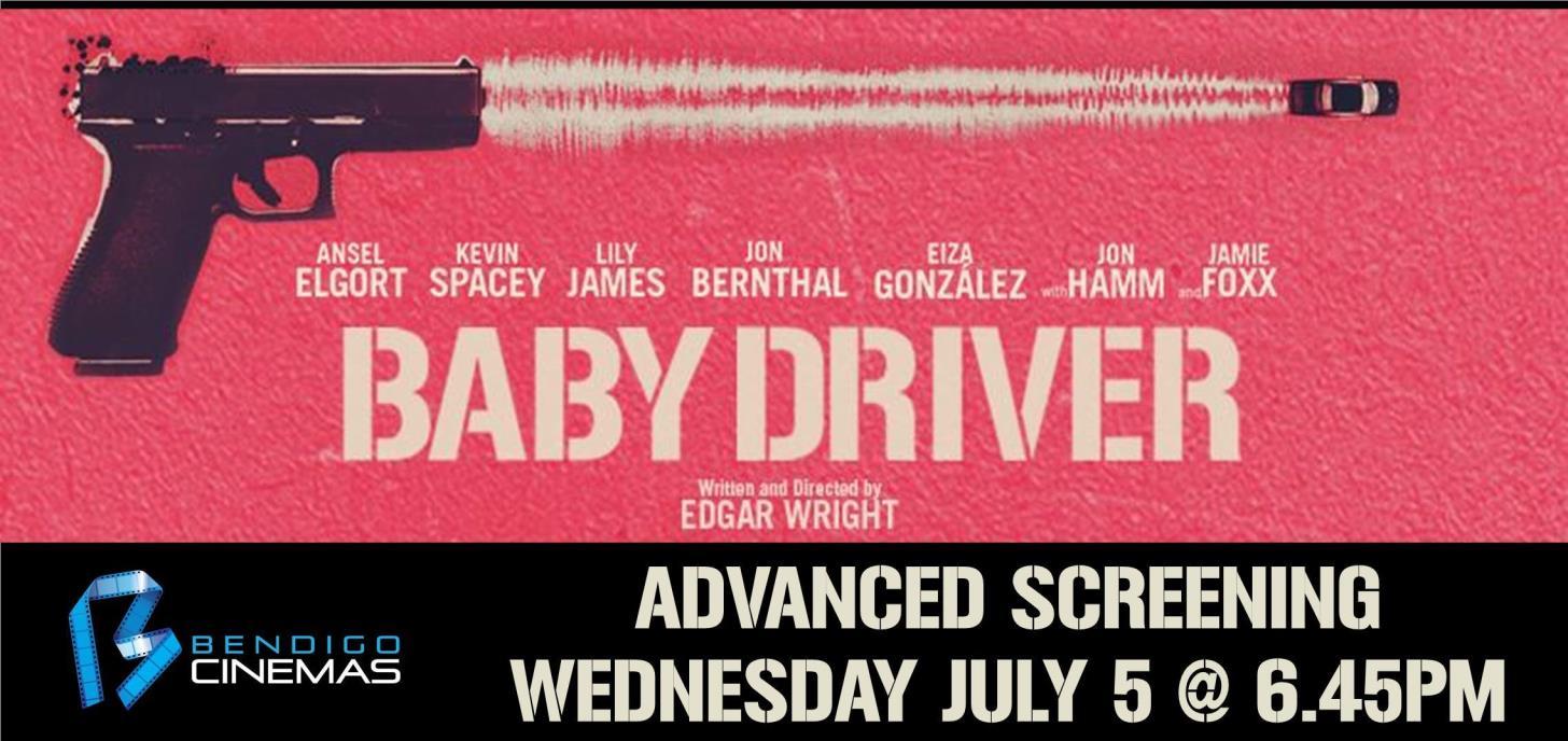 Baby Driver Advanced Screening