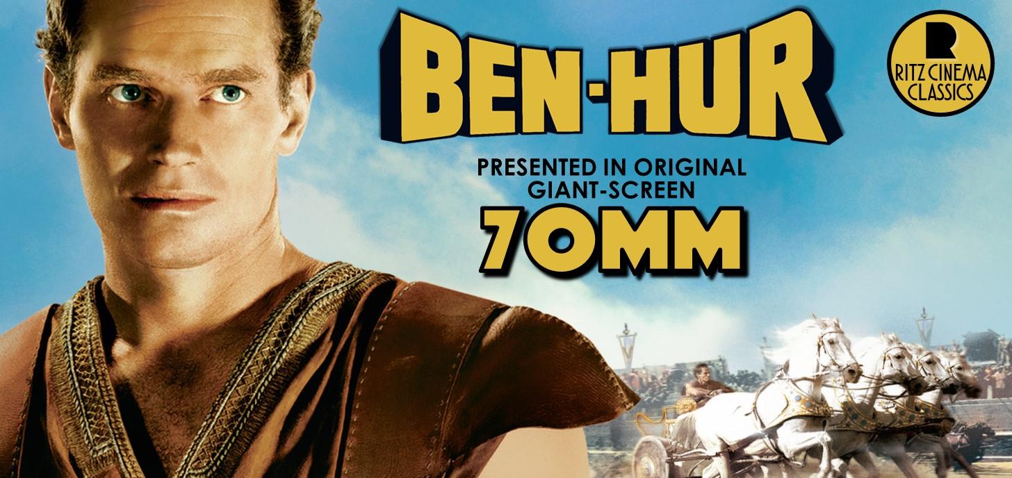 BEN HUR exclusive 70mm shows