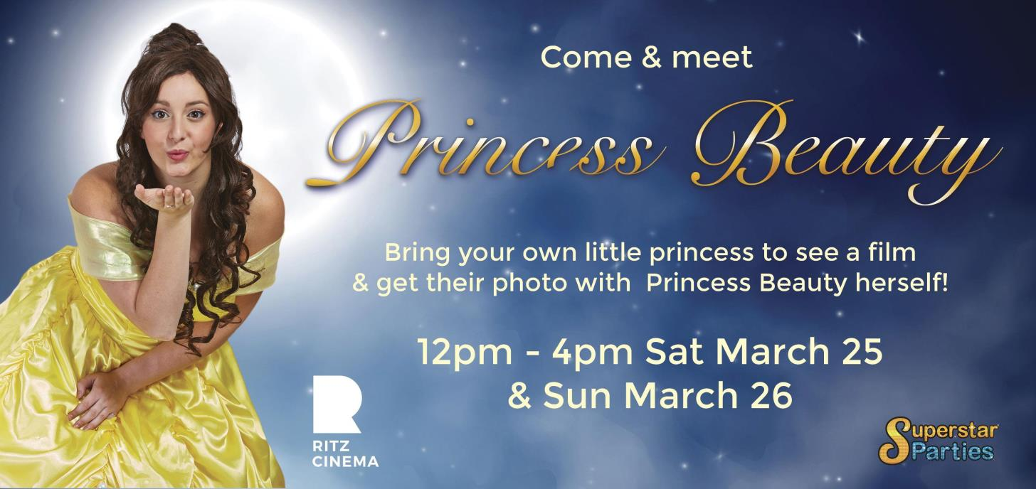 Come & Meet Princess Beauty at The Ritz!