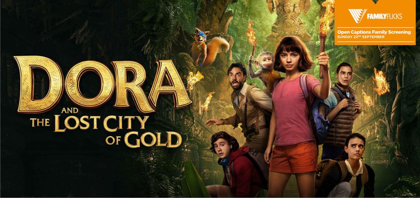Dora And The Lost City Of Gold Open Caption Event