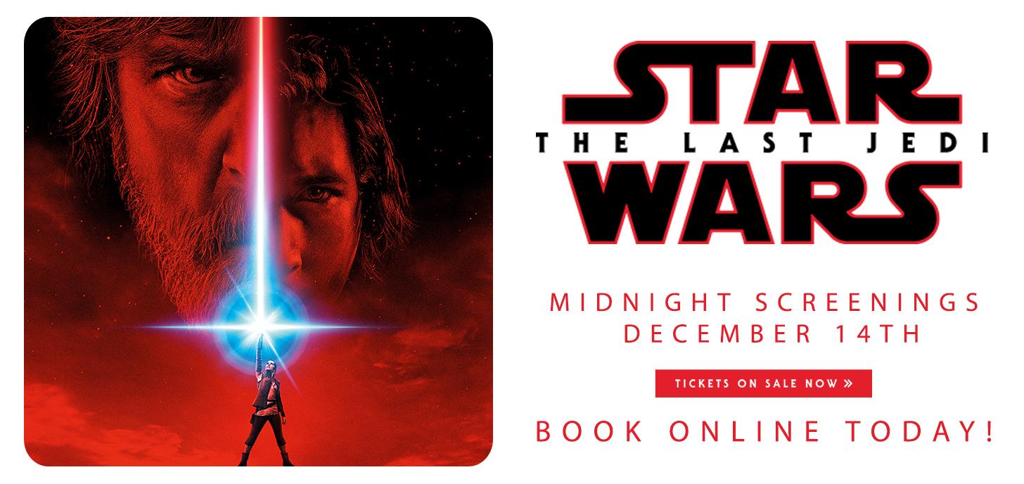 Star Wars: The Last Jedi Midnight Screenings