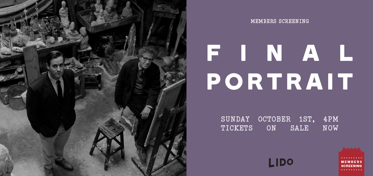 Final Portrait - Members Screening