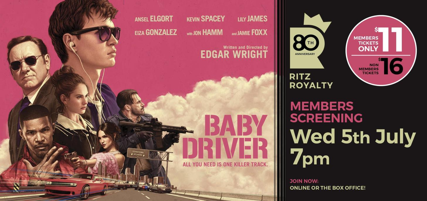 BABY DRIVER - Preview Members