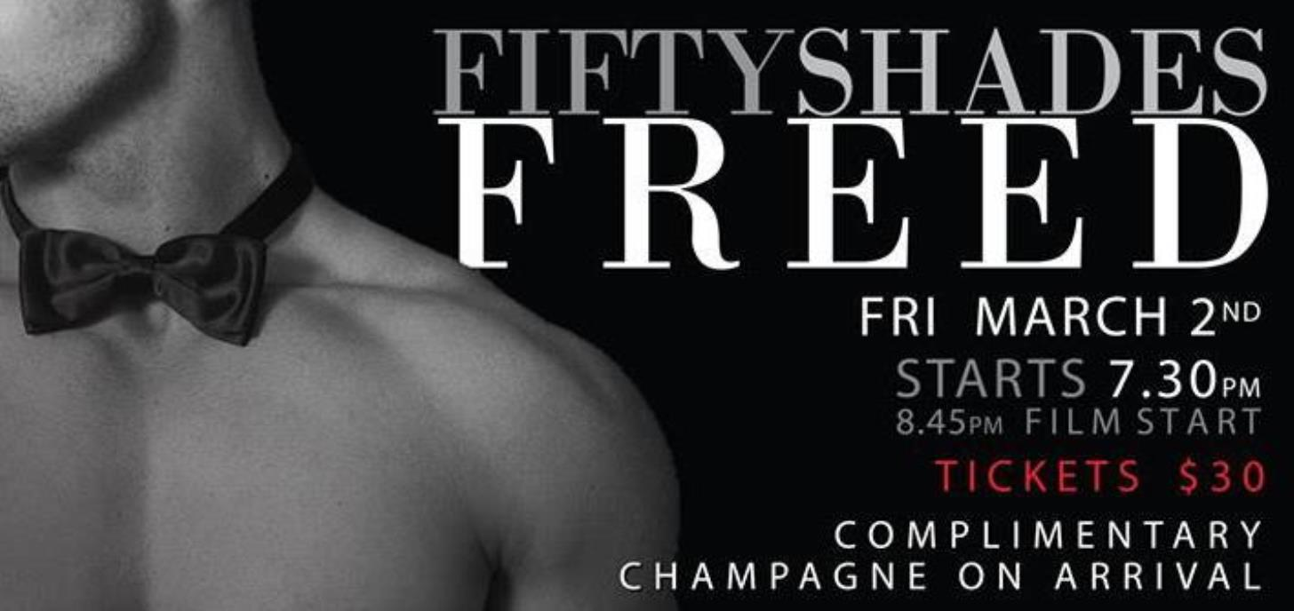 Fifty Shades Freed 18+ Event