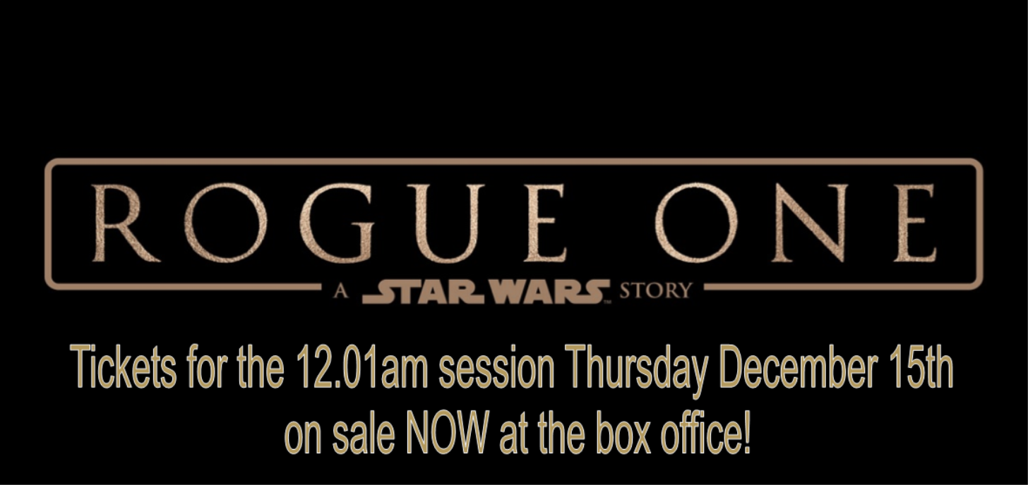 Coming Soon - Rogue One: A Star Wars Story