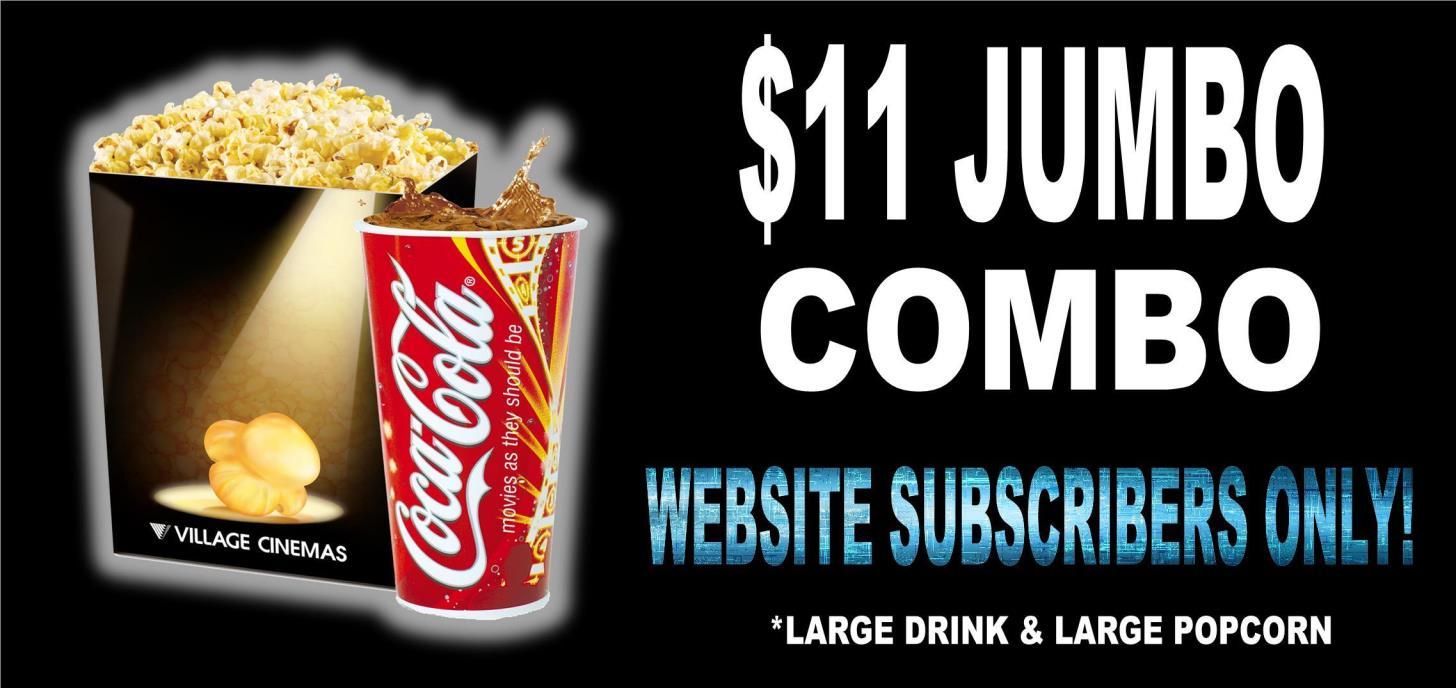 $11 Web Subscriber Jumbo Combo