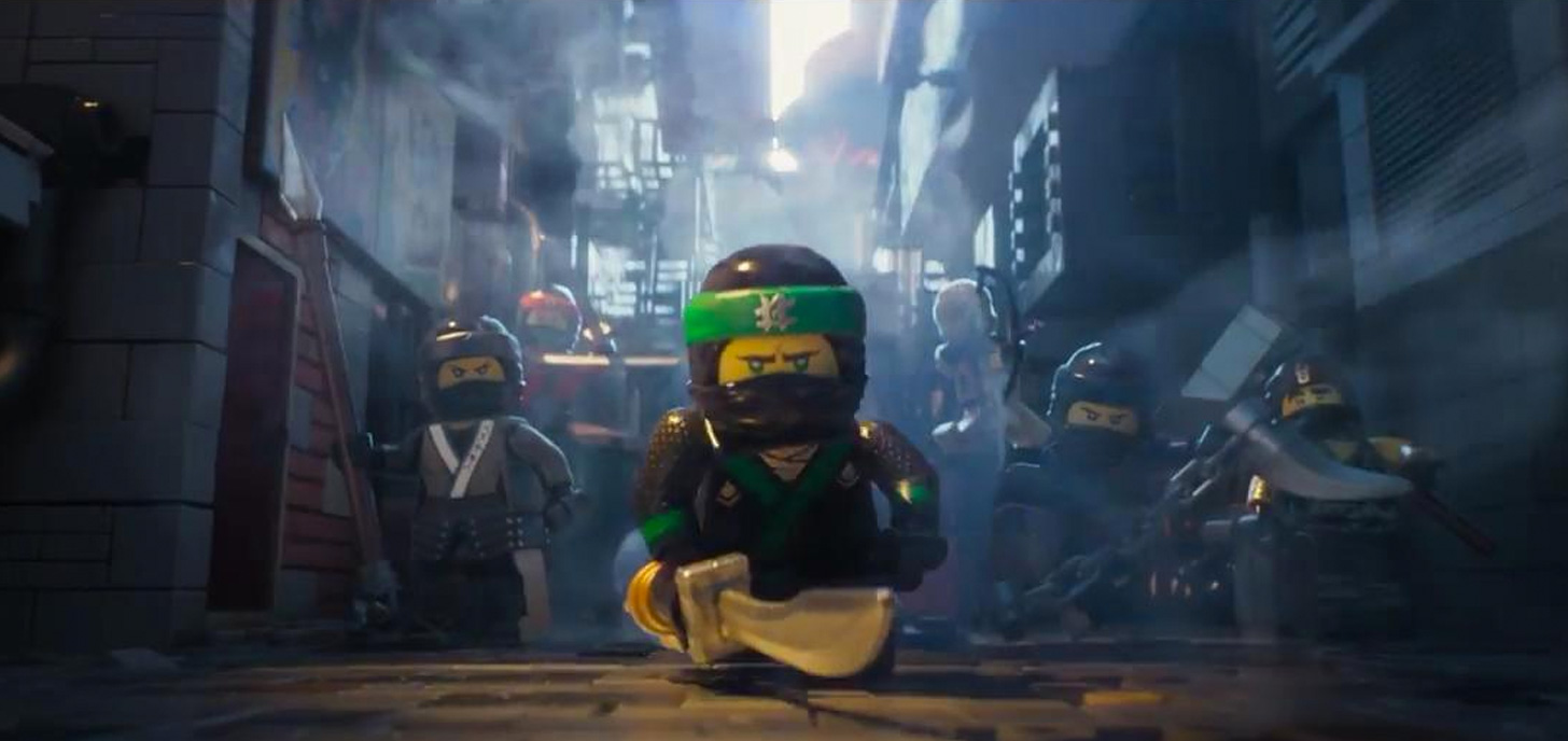 Now Showing: Lego Ninjago Movie