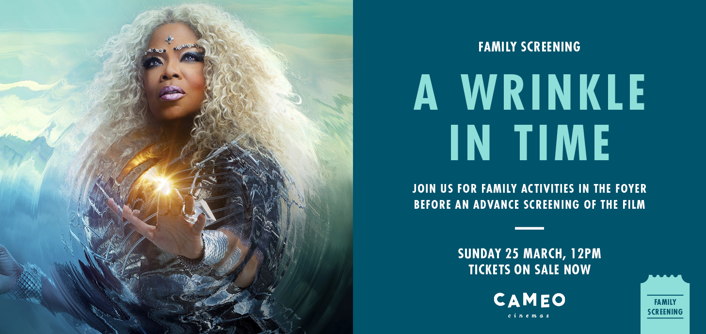 A Wrinkle in Time Family Screening