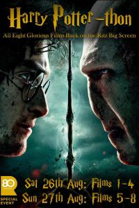 Harry Potter Marathon - Day 1 - Films 1-4