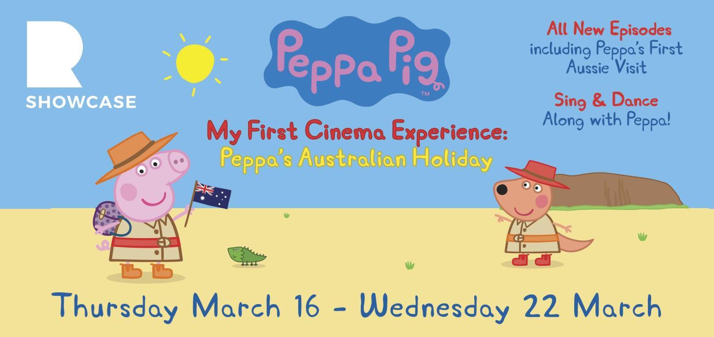 Peppa Pig My First Cinema Experience: Peppa's Australian Holiday