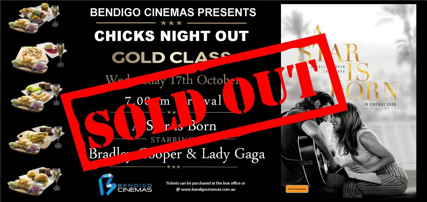 Chicks Night Out Gold Class