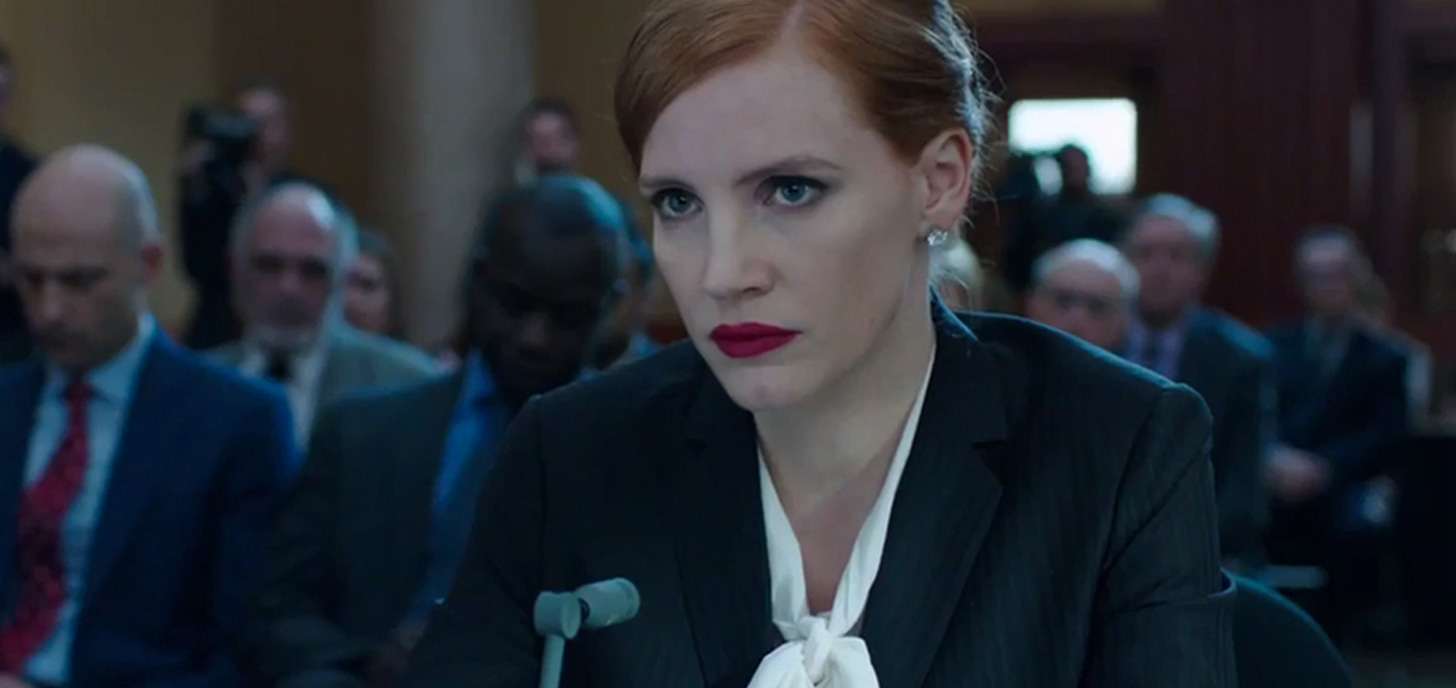 Now Showing: Miss Sloane