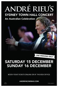 Andre Rieu's Sydney Town Hall Concert