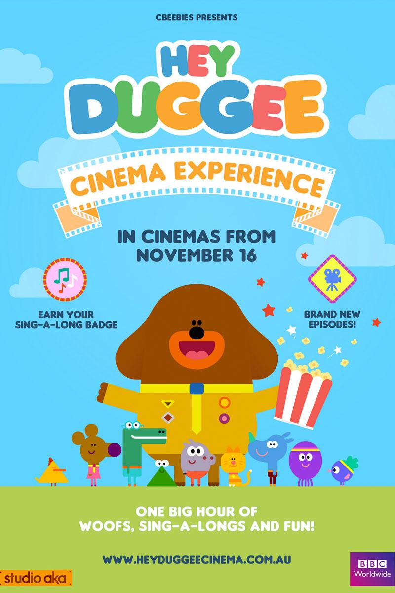 Hey Duggee Cinema Experience