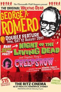 Night of the Living Dead + Creepshow - George A Romero double