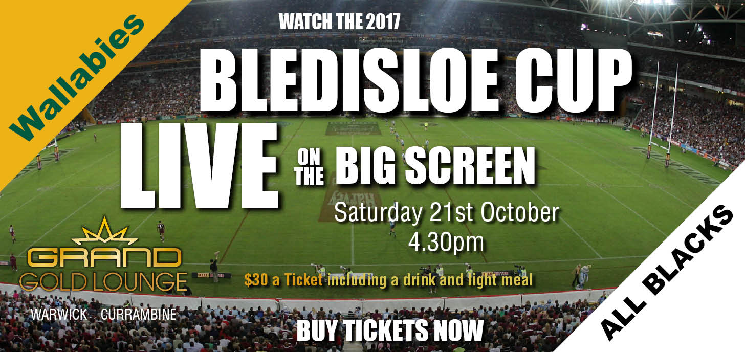 Bledisloe Cup Wallabies vs New Zealand