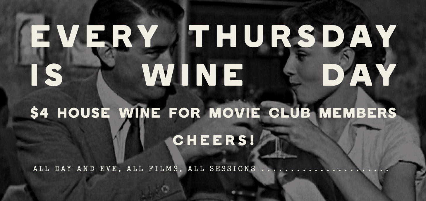 $4 House Wine for Members on Thursdays at Lido