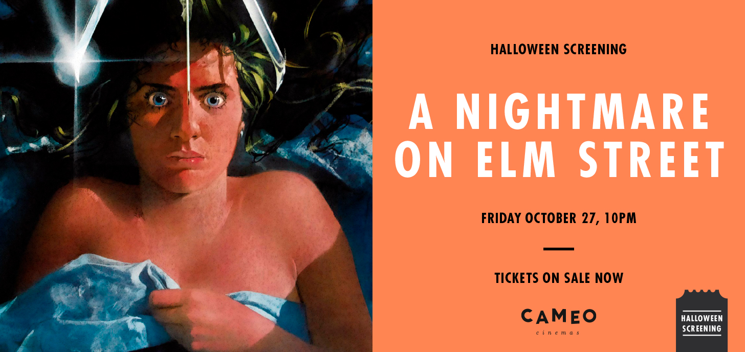 A Nightmare on Elm Street for Halloween at Cameo