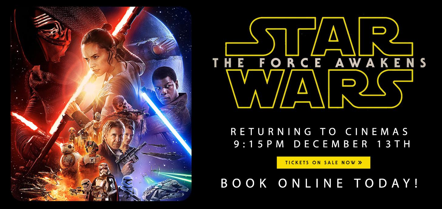 Star Wars: The Force Awakens Encore Screenings