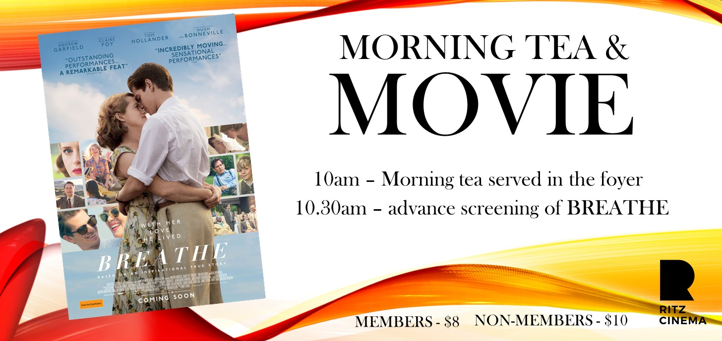 BREATHE morning tea & movie