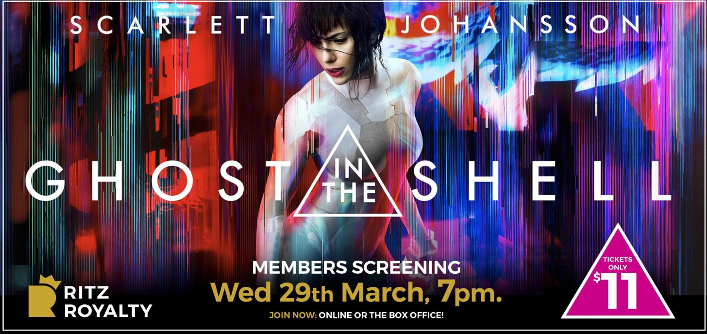 Ghost In The Shell Members Screening