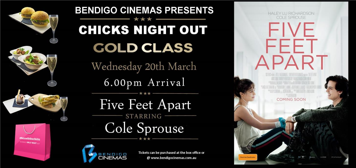 Gold Class Chicks Night Out Advanced Screening