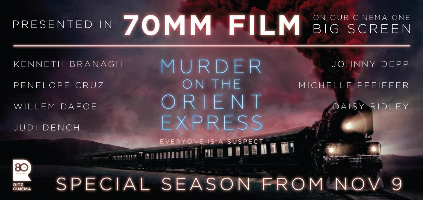 MURDER ON THE ORIENT EXPRESS 70mm season!