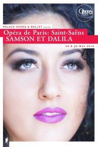 Opéra de Paris: SAMSON ET DALILA (Saint-Saëns)