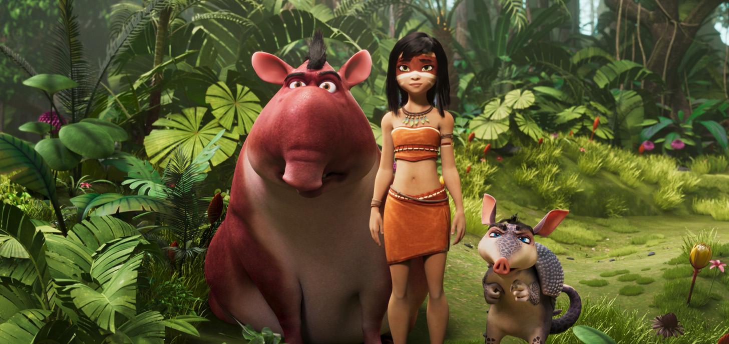 Now Showing: Ainbo: Amazon Princess