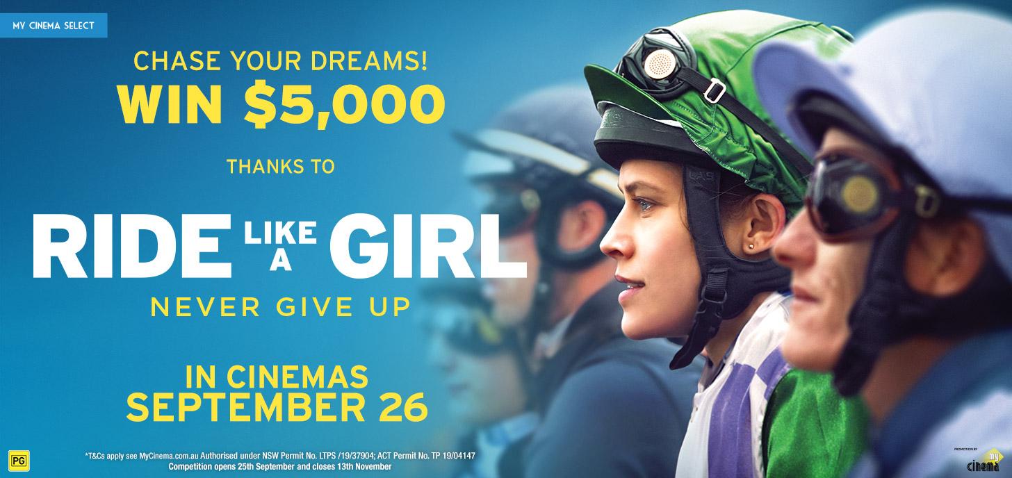 Ride Like A Girl Comp!