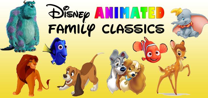 Disney Animated Family