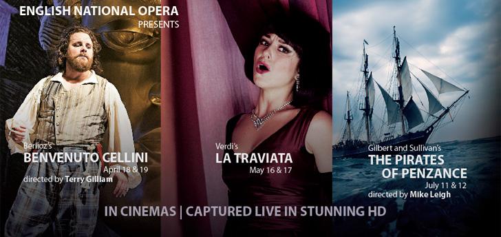 Cameo Cinemas presents the 2015 English National Opera Live on Screen